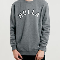 A Question Of Holla Sweatshirt - New This Week - New In