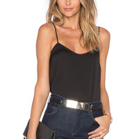 L'Academie The Cami Blouse in Black