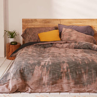 Bleached Slub Duvet Cover - Urban Outfitters