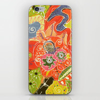 Sugar Skull iPhone & iPod Skin by Express Yourself Studios, LLC