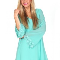 Ring My Bell Mint Dress | Monday Dress Boutique