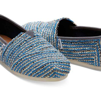 NAUTICAL BLUE SEQUIN BOUCLE WOMEN'S CLASSICS