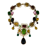 Yves Saint Laurent Haute Couture Collar by Goossens