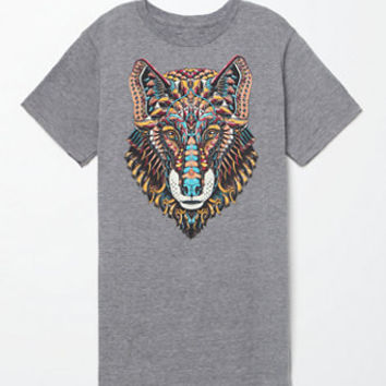 Riot Society Ornate Wolf T-Shirt at PacSun.com