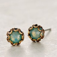 Scalloped Sea Studs by Anthropologie Sky All Earrings