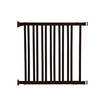 Dreambaby Nelson Gro-Gate Expandable Swing Gate (Brown)