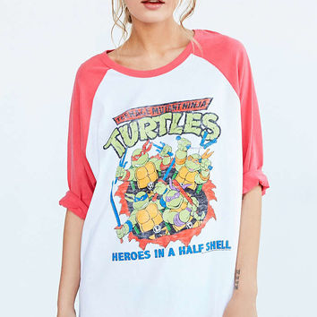 Junk Food Ninja Turtles Baseball Tee - Urban Outfitters