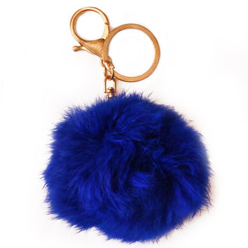 Poofball Key Chain