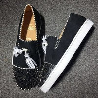 Christian Louboutin CL Flat Style #745 Best Deal Online