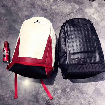 e1881042d798 Air Jordan AJ13 Basketball school bag backpack H-A-GHSY-1