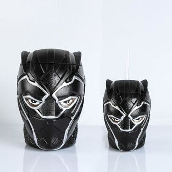 Black Panther Cup & Snack Bucket - Action Figure