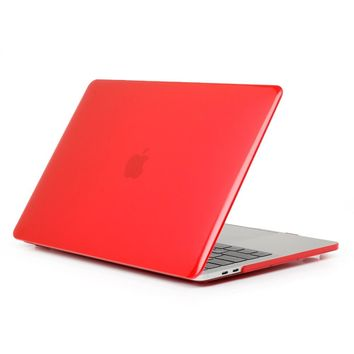 Fashion Matte Crystal Case for Macbook Protective for Macbook 11 12 Inch Case Transparent Cover for Apple Macbook Air 11 Cases