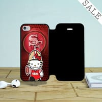 49Ers Hello Kitty iPhone 4 |4S Flip Case