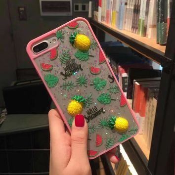Phone Case For iPhone 6 6s 6 plus 7 7Plus Fashion Fruit Strawberry
