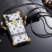 Louis Vuitton LV Fashion iPhone Phone Cover Case For iphone 6 6s 6plus 6s-plus 7 7plus 8 8plus X iPhone XR  XS XS MAX