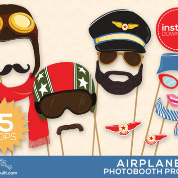 Airplane Party, Photo Booth Props, Airplane Birthday, Aviator Photobooth Prop, Foto Booth, Planes Party, Special Delivery, Avion, Jet Setter