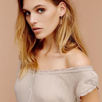 Free People Ginger Off The Shoulder