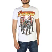 Marvel Men White T-shirts