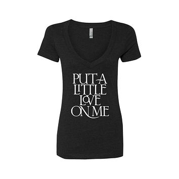 """Niall Horan """"Put a Little Love on Me"""" V-Neck T-Shirt"""