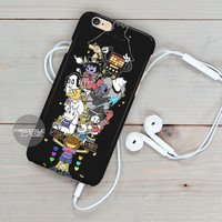 Black Undertale Fight Or Mercy   iPhone Case Cover Series
