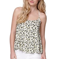 Volcom Feelin Fine Tank - Womens Tees - Green