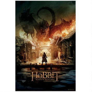 The Hobbit: The Battle of the Five Armies Smaug Theatrical Poster | WBshop.com | Warner Bros.