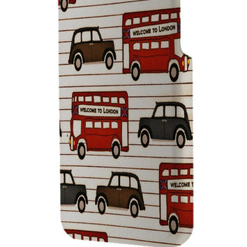 Best 3D Full Wrap Phone Case - Hard (PC) Cover with Welcome london Scenes Design