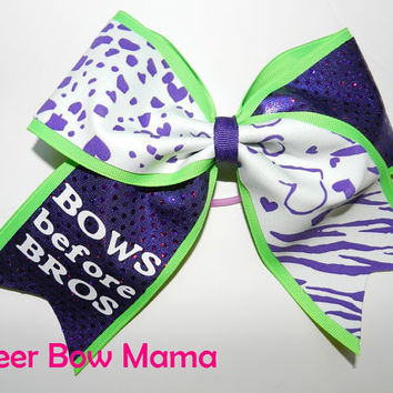 BOWS before BROS... Cheer Bow