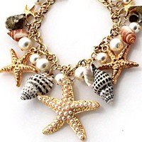 Mixed Sea Shell Necklace on Luulla