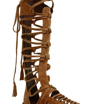 Free People 'Sun Seeker' Tall Gladiator Sandal (Women) | Nordstrom