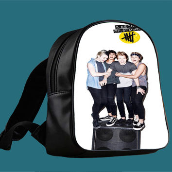 5sos stereo 5 seconds of summer for Backpack / Custom Bag / School Bag / Children Bag / Custom School Bag *