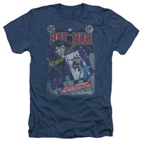 Batman #251 Distressed Heathered Mens T-Shirt