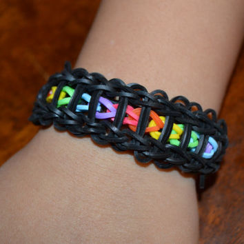 Ladder Rainbow Loom Bracelet