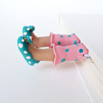 Cupcake Slippers Bookmark Collection - Get Well Gift, Birthday Gift - Fun and Unique Bookmarks