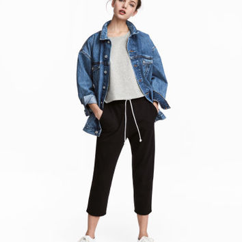 H&M Cropped Sweatpants $17.99