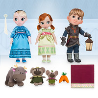Disney Animators' Collection Anna, Elsa & Kristoff Deluxe Gift Set - 16'' | Disney Store