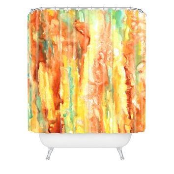 Rosie Brown Patina Shower Curtain