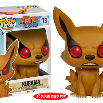 Naruto Funko POP! Anime Kurama Vinyl Figure Super Sized POP #73