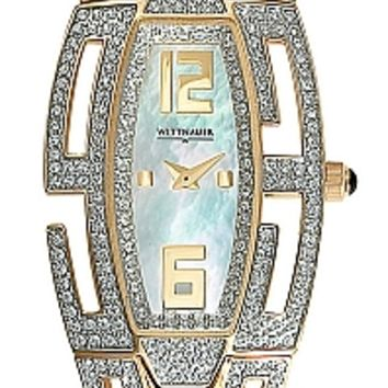 Wittnauer Krystal Collection Women's Bracelet Mother of Pearl Watch 12L029