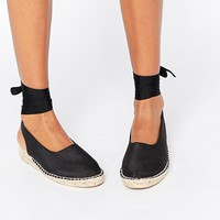 ASOS JICAMA Low Wedge Espadrilles at asos.com