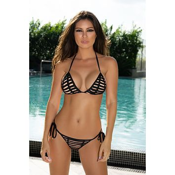 Notorious Swimwear Arousing Triangle Top & Bottom Bikini Set