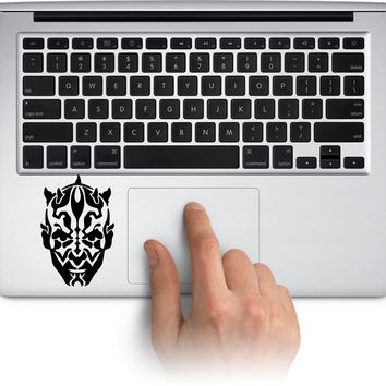 Darth Maul Logo Vinyl Decal Sticker for Laptop Mac Car Window Cup Water Bottle Yeti Tumbler  Truck Stickers Decal Made in US (Message for Color)