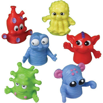 big eyed monster finger puppets Case of 108