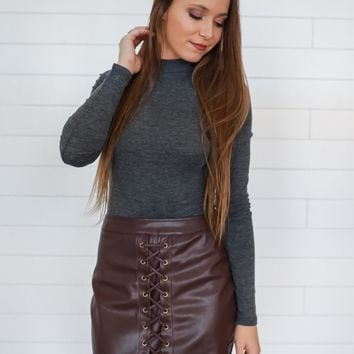 Smooth Talker Mini Skirt