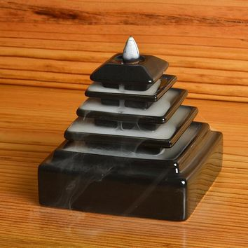 Backflow Censer Ceramic Tiantan Incense Burner