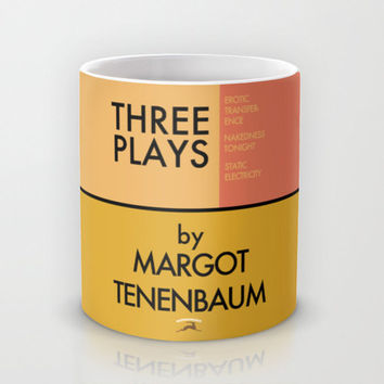 Three Plays By Margot Tenenbaum Mug