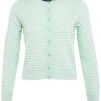 Mint Ottoman Cardi - Clothing - New In