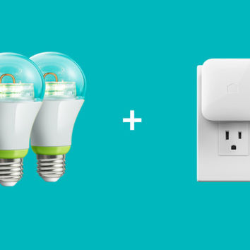 GE Link Starter Kit - Connected LED bulbs and hub | Quirky