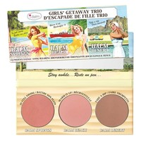 Girls Getaway Trio -- Long-Wearing Bronzer/Blush