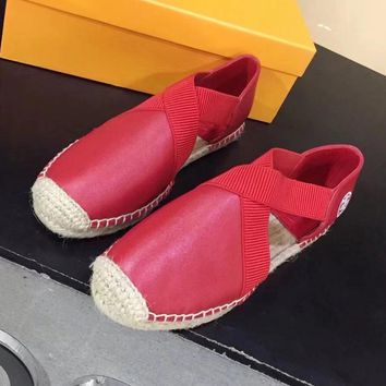 Tory Burch Fashion Casual Espadrilles Flats Shoes